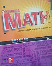 Florida Math: Your Florida Standards Edition. Course 3, Pre-Algebra - Volume 1