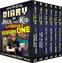 Diary of Jack the Kid - A Minecraft LitRPG - FULL Season ONE (1): Unofficial Minecraft Books for Kids, Teens, & Nerds - LitRPG Adventure Fan Fiction Diary Series