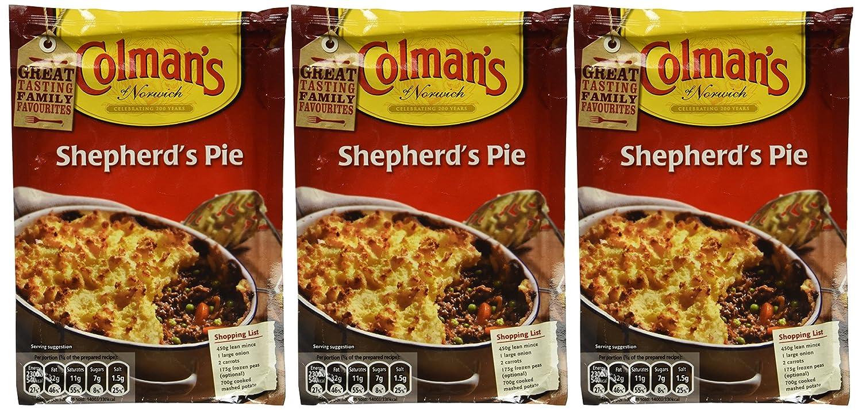 3 x Colman's Shepherd's package outlet 1.75-ounce Pie Mix Under blast sales