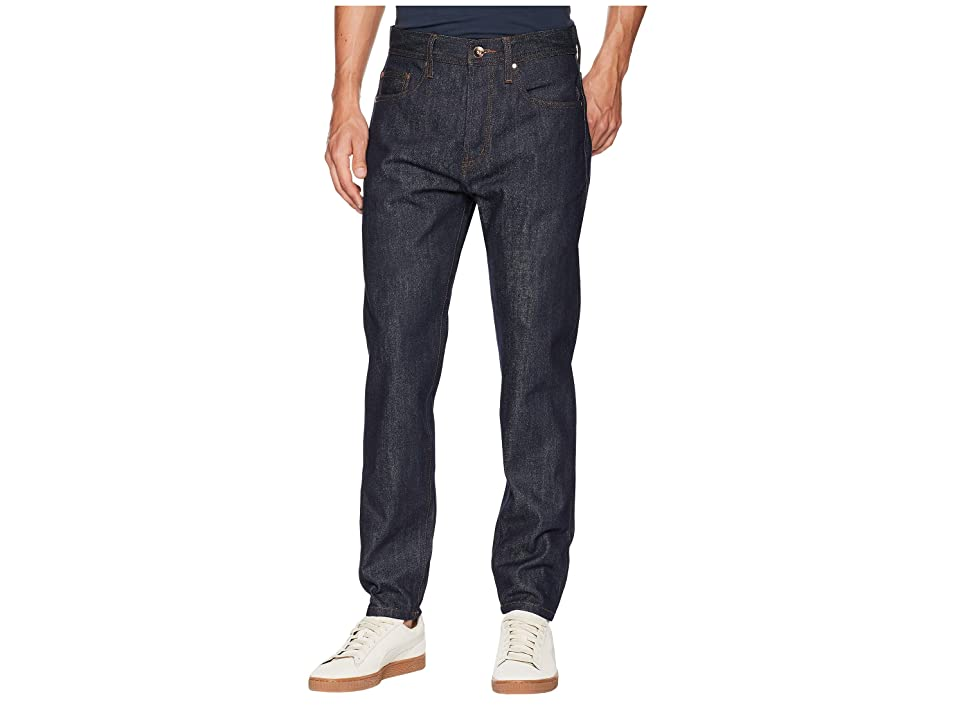 The Unbranded Brand - The Unbranded Brand Relaxed Tapered in 14.5 oz. Indigo Selvedge