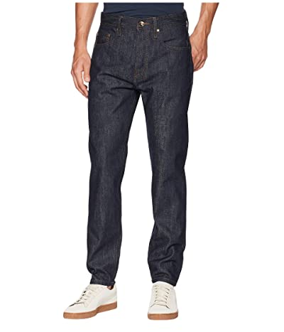 The Unbranded Brand Relaxed Tapered in 14.5 oz. Indigo Selvedge (14.5 oz. Indigo Selvedge) Men