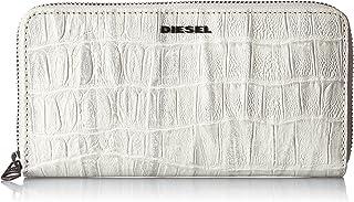 (ディーゼル) DIESEL メンズ ウォレット クロコ型押しレザー ジップ付き 長財布 X03903P0178
