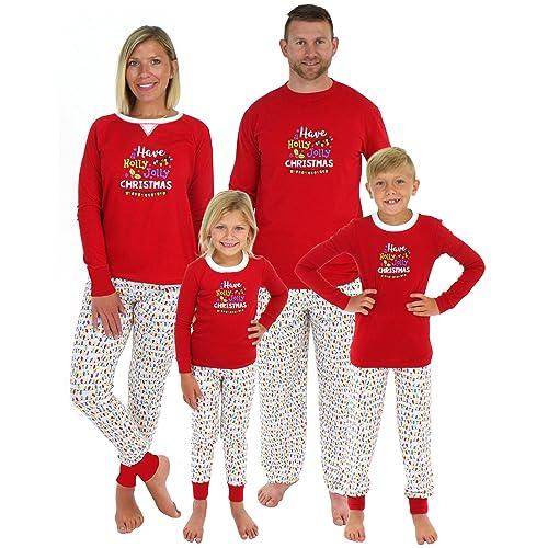 Sleepyheads Christmas Family Matching Holly Jolly Lights Pajama PJ Sets 3e90c98c3
