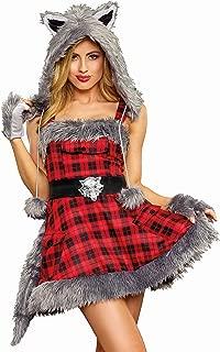 Women's Big Bad Wolf Adult Costume
