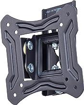 AmazonBasics - Soporte de pared basculante y giratorio, para televisión, de 33 a 58,4 cm (13-23