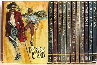 Educator Classic Library 12 Volume Set: Treasure Island*20,000 Leagues*Pinocchio*Swiss Family Robin.*Jungle Book*Virginian*Sherlock Holmes*Arabian Nights*Robin Hood*Heroes*Call Of The Wild*Paul Bunyan