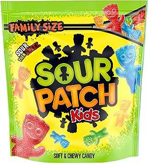 SOUR PATCH KIDS Candy, Original Flavor, 1 Family Size Bag (1.8 lb)