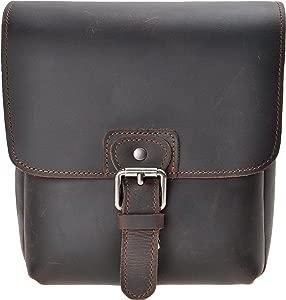 Small Leather Camera Bag ZLYC Vintage DSLR Bag Removable Shockproof Pa...