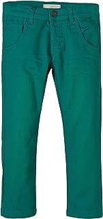 NAME IT Jonas Mini Slim Twill Pant Pantalones para Niños