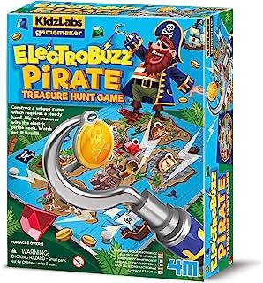 4M 403436 Kidzlabs GameMaker-Pirate Treasure Hunt, Multi Colour