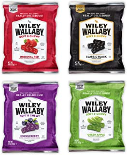 Wiley Wallaby Australian Licorice Variety Gift Box