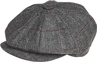 Gorra de Peaky Blinders, en 8piezas, 100% lana, de estilo chico repartidor de periódicos