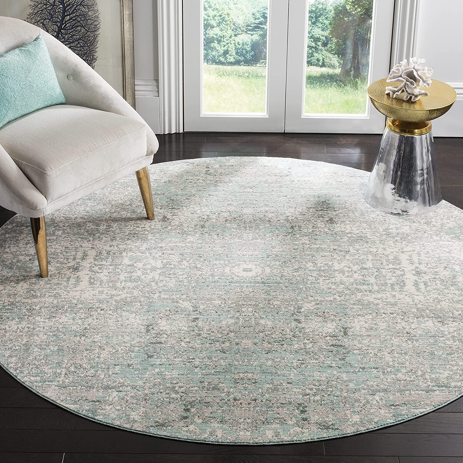 Safavieh Mystique Collection MYS971A Manufacturer regenerated product Indianapolis Mall Abstract Distressed Modern