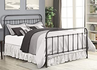 Coaster Home Furnishings Bed in Dark Bronze (King-87.25 in. L x 80.5 in. W x 51.5 in. H)