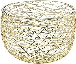 Decorative Nest Salad Bowl with Glass Liner Centerpiece Food Serveware by Godinger