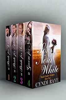 Sons of Nora White Series Mail Order Brides Romance Boxed Set: Volumes 1-4