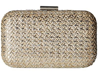 Jessica McClintock Molly (Gold Metallic) Clutch Handbags