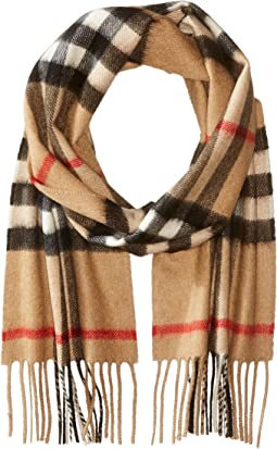 Exploded Check Cashmere Scarf (Little Kids/Big Kids)