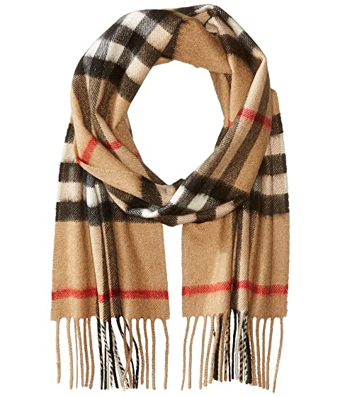 9c15dce1 Burberry Kids Exploded Check Cashmere Scarf (Little Kids/Big Kids ...