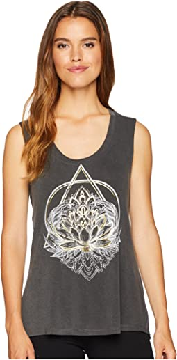 Hi-Low Graphic Tank Top