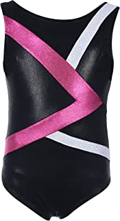 Dancina Girls Gymnastics Tank Top Leotard Dancewear and Prints Ages 3-12