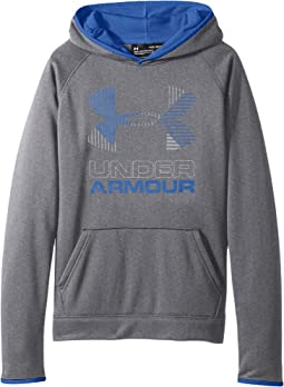 Under Armour Kids - SG Armour Fleece Solid Big Logo Hoodie (Big Kids)