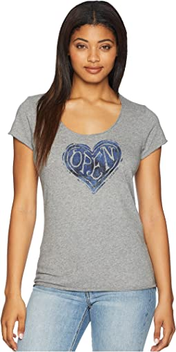 Open Heart Smooth Tee