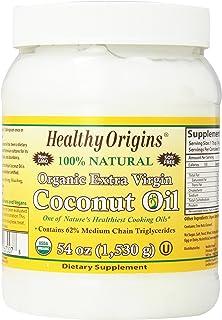 Sponsored Ad - Healthy Origins Organic Extra Virgin Coconut Oil, 54 Ounce