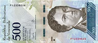 Venezuela Paper Banknotes 500 Bolivares Fuertes