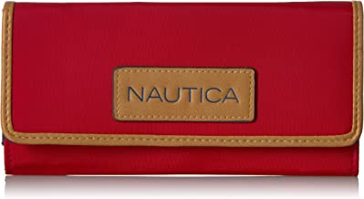 Nautica Women's the Perfect Carry-All Money Manager Wallet Oraganizer with Rfid Blocking