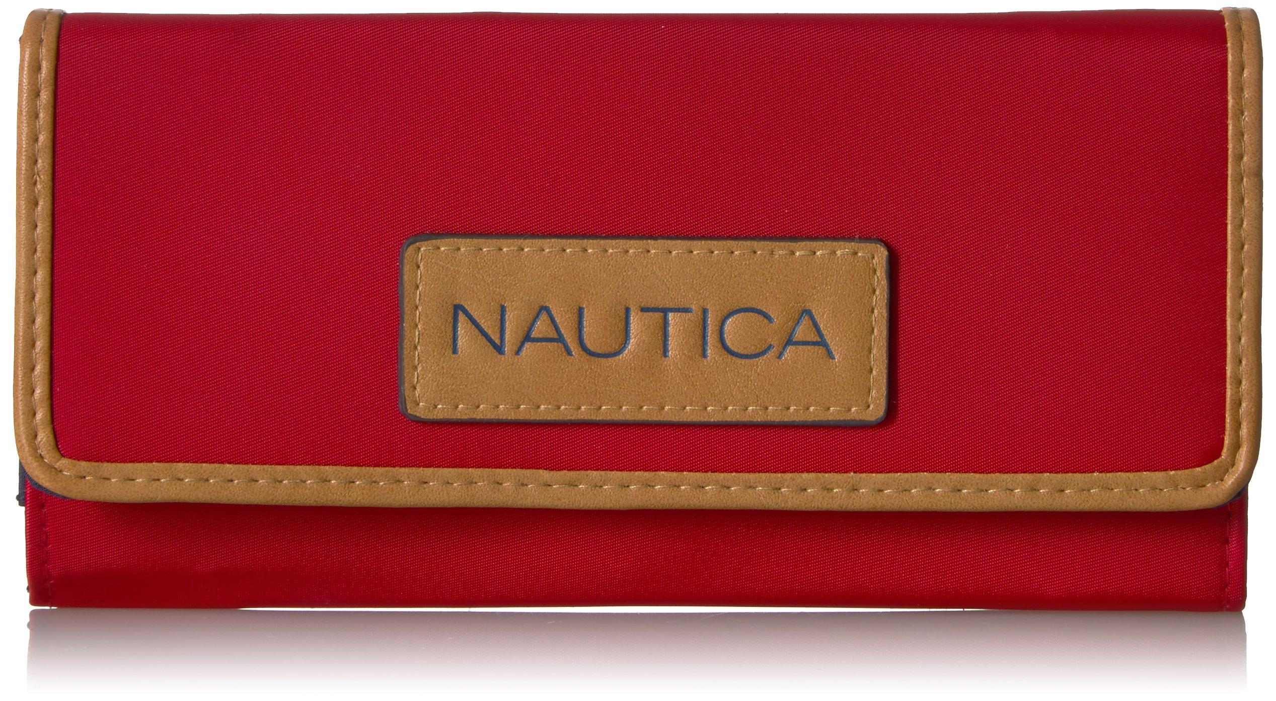 Nauticaパーフェクトキャリーオールマネーマネージャー財布オラガナイザーRFIDブロッキング財布