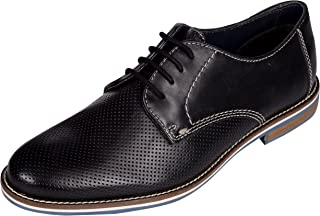 Venturini Mens Leather Lace Up Formal Derbys