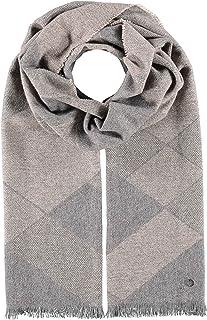 Made In Germany FRAAS sciarpa mens Cashmink/â/® con un design a quadri