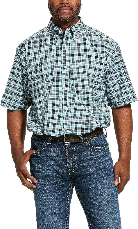 ARIAT Men's Pro Series Klamath Stretch Classic Fit Shirt