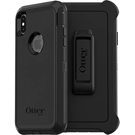 OtterBox Defender Case for iPhone Xs MAX - Non-Retail Packaging - Black