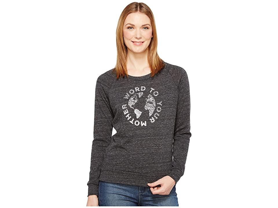 Alternative Eco Slouchy Pullover (Word to Your Mother Eco Black) Women