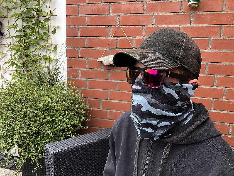 Sharplace /Écharpe Filet de Camouflage Foulard Ch/èche Voile Masque Protecteur Visage Cou S/échage Rapide