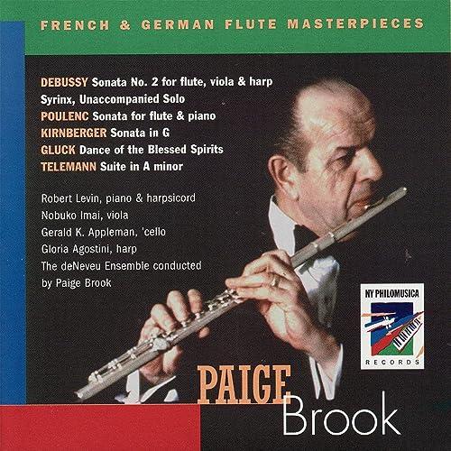 Sonata No. 2 for Flute, Viola and Harp