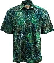 Johari West Green River Cotton Batik Shirt