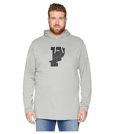 Polo Ralph Lauren Big & Tall Big Tall Jersey Performance Hooded T-Shirt (Andover Heather) Men