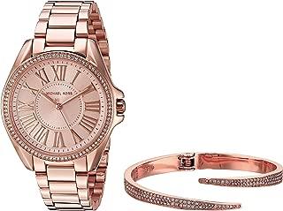 Women's Kacie Rose Gold-Tone Watch and Bracelet Gift Set MK3569