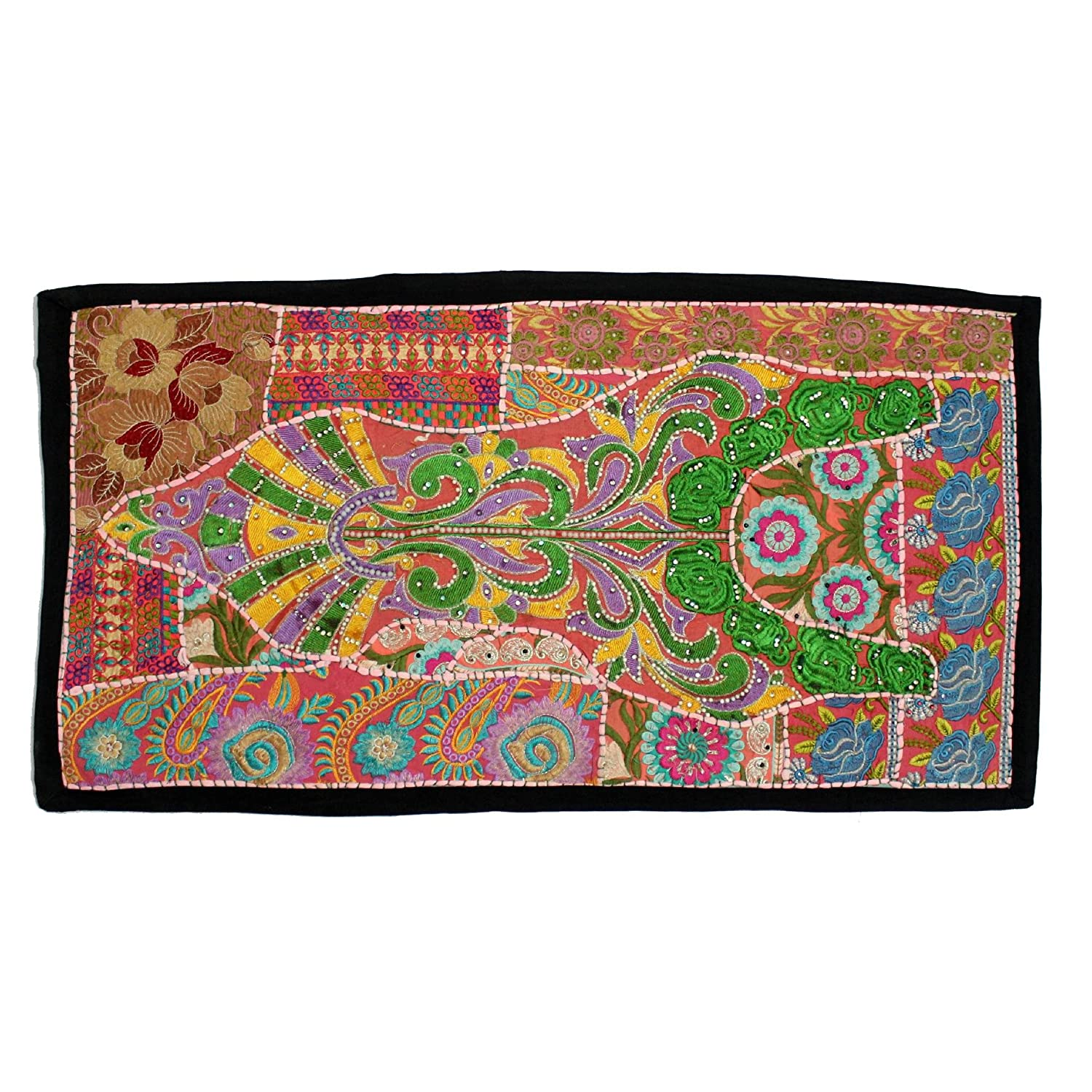 Ranking TOP1 Vintage Embroidered Patchwork Traditional Bargain Room Beautiful Living
