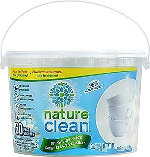 Nature Clean 自動洗碗機清潔 60 pacs/816 g 60