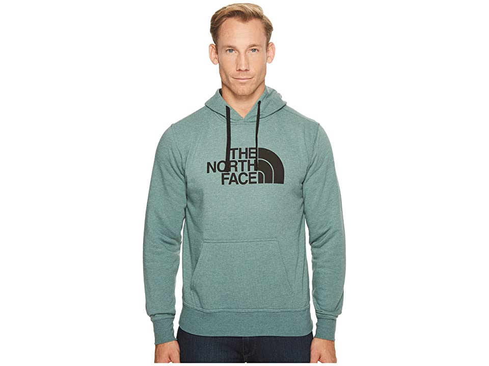 The North Face Half Dome Hoodie (Silver Pine Green Heather/TNF Black) Men