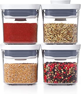 NEW OXO Good Grips 4-Piece Mini POP Container Set