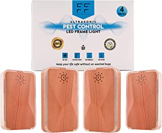 Ultrasonic Pest Repellent Plug, Pack Of 4 – Electronic Pest Repeller For Indoor Use – Plug-In Pest Control And Mouse Repellent For Mosquitos, Insects, Rats, Bugs, Spiders, Fleas,pest repellent