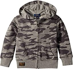 Camo Print Cotton Hoodie (Toddler)