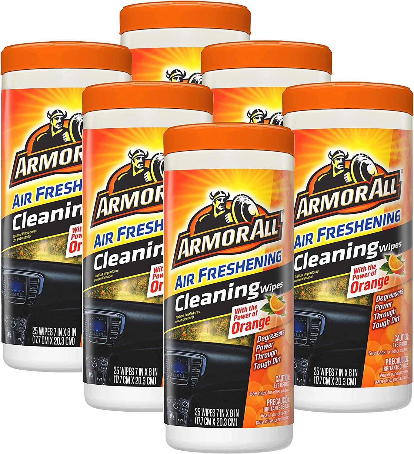 Armor All Max 74% OFF 78509 Car Interior Cleaner C Atlanta Mall Wipes 25 Count Protectant