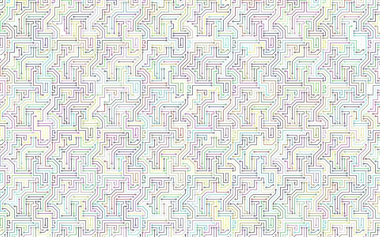 Mesa Mall Bgraamiens Puzzle-Circuit Maze-1000 Pieces Brain Puzzle Square Fees free C