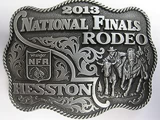 Hesston 2013 National Finals Rodeo NFR Adult Belt Buckle, New, Wrangler